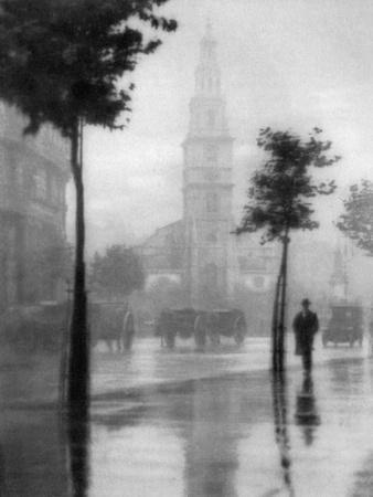 St Clement Danes Church, Strand, London, 1924-1926