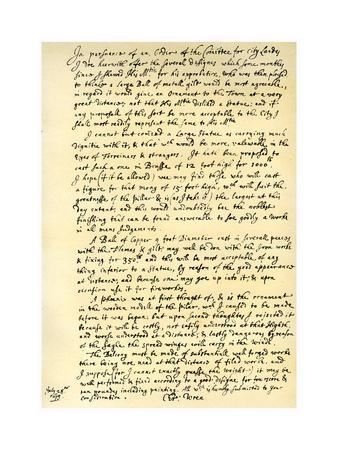 Report by Sir Christopher Wren, 28th July 1675