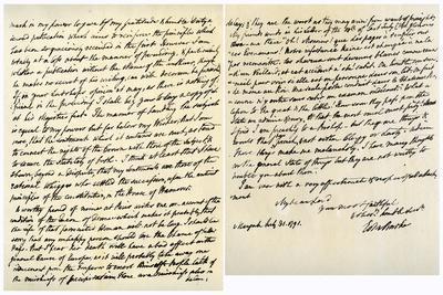 Letter from Edmund Burke to John Douglas, 31st July 1791