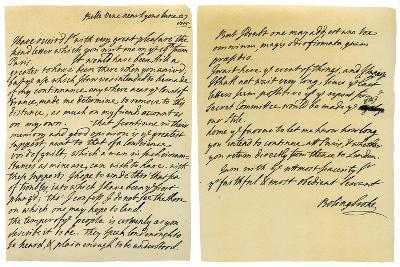 Letter from Henry St John to George Clarke, 27th June 1715