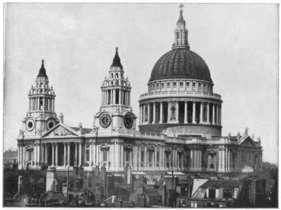 St Paul's Cathedral, London, Late 19th Century