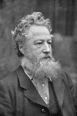 William Morris (1834-189), English Socialist, Artist, Craftsman and Poet