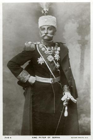 King Peter I of Serbia, C1903-C1918