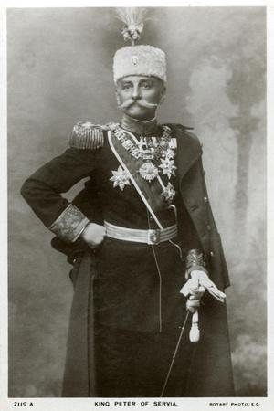 King Peter I of Serbia, C1903-C1918