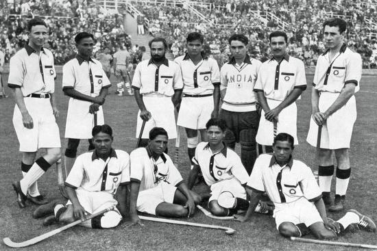 The Indian Hockey Team, Gold Medal Winners, Berlin Olympics, 1936 ...