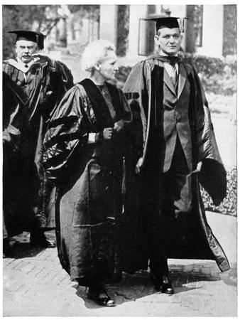 Marie Curie, Polish-Born French Physicist in 1921