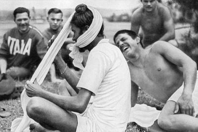 Indian Sikh Athlete, Berlin Olympics, 1936