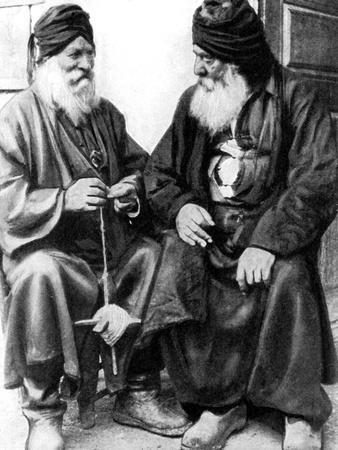 Turkish Cypriot Men Spinning, 1936