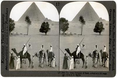 The Great Pyramid of Giza, Egypt, 1905