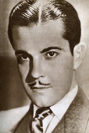 Ramón Novarro, Mexican Actor, 1933