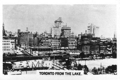 Toronto from the Lake, Canada, C1920S