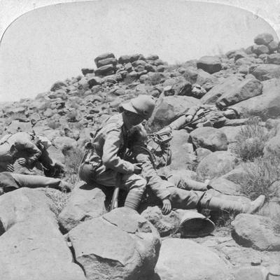 The Dying Bugler's Last Call, a Battlefield Incident, Gras Pan, South Africa, 1900
