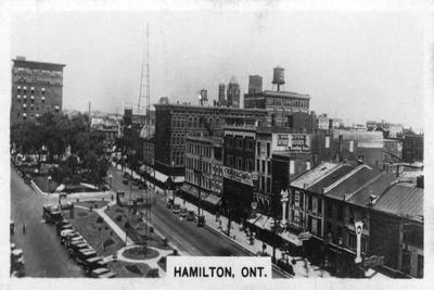 Hamilton, Ontario, Canada, C1920S