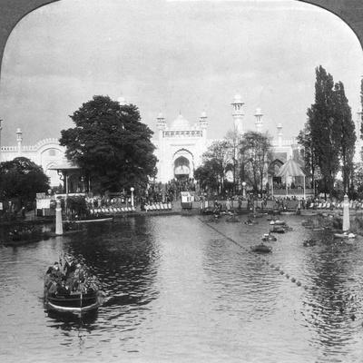 The Lake at the British Empire Exhibition, Wembley, London, C1925