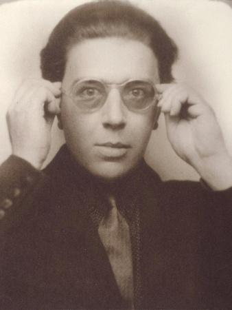 Andre Breton with Glasses
