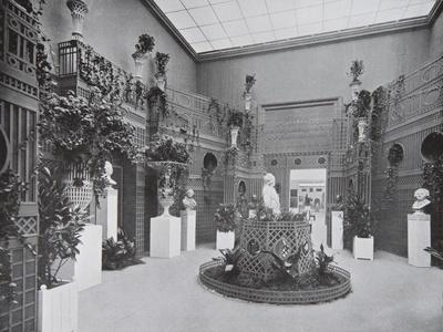 Hall of Sculptures on the Dyaghilev's Exposition De L'Art Russe at the Salon D'Automne in Paris