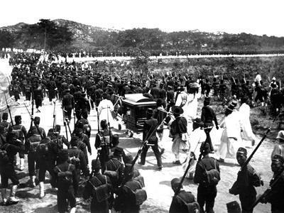 Japanese Troops, Korea, 1900