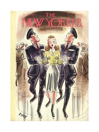 The New Yorker Cover - January 10, 1942