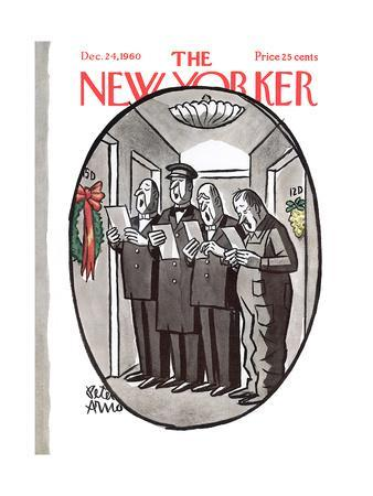 The New Yorker Cover - December 24, 1960