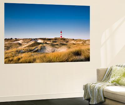 Lighthouse in the Dunes, Amrum Island, Northern Frisia, Schleswig-Holstein, Germany
