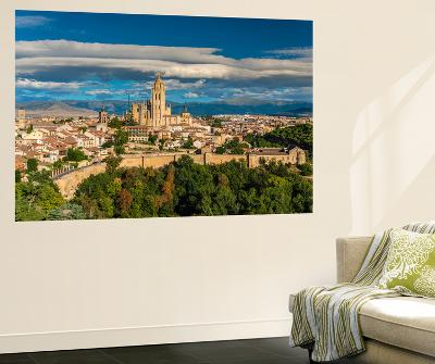 City Skyline, Segovia, Castile and Leon, Spain