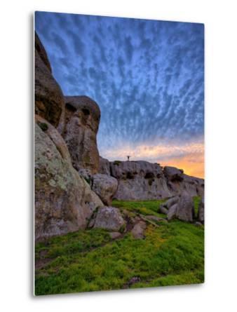 Glorious Morning Sky at Elephant Rocks, California Coast