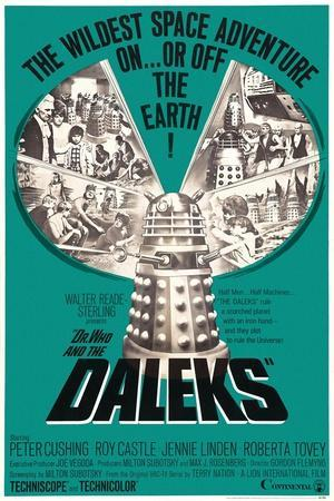 Dr. Who and the Daleks, 1965