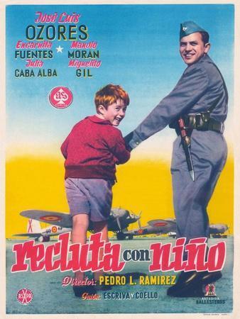 Recluta Con Niño, 1956