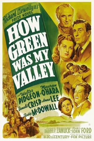 How Green Was My Valley, 1941