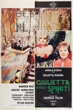 Juliet of the Spirits, 1965 (Giulietta Degli Spiriti)