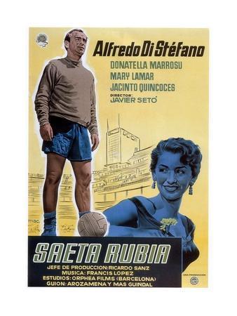 La Saeta Rubia, 1956
