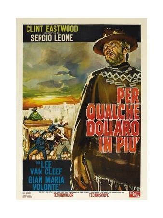 For a Few Dollars More, 1965 (Per Qualche Dollaro in Piu)