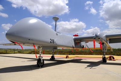 A Heron Tp Unmanned Aerial Vehicle of the Israeli Air Force