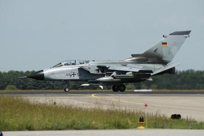 Tornado Ecr of the German Air Force Armed with Harm Missile