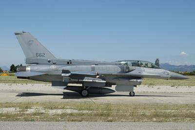 F-16D Falcon from the Republic of Singapore Air Force
