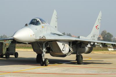 Mig-29 Fulcrum from the Hungarian Air Force