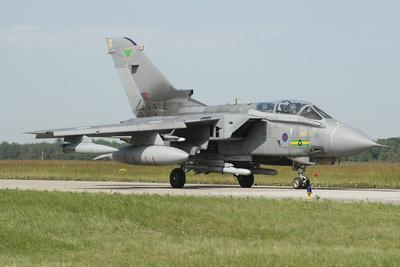 Tornado Gr4 of the Royal Air Force Armed with Alarm Missiles