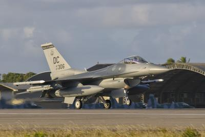 U.S. Air Force F-16 Fighting Falcon at Natal Air Force Base, Brazil