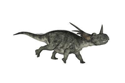 Styracosaurus Dinosaur Running