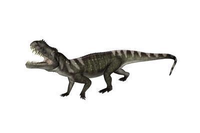 Prestosuchus Dinosaur Roaring