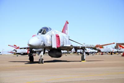 U.S. Air Force Qf-4 Phantom Ii on the Ramp at Holloman Air Force Base