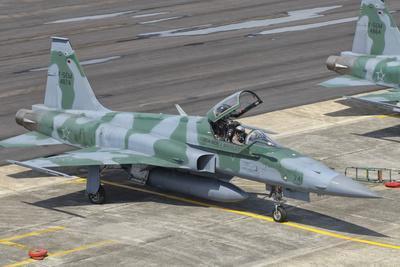Brazilian Air Force F-5 at Natal Air Force Base, Brazil