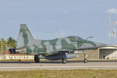 Brazilian Air Force F-5 at Natal Air Force Base, Brazil