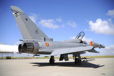 Eurofighter Ef2000 Typhoon of the Spanish Air Force