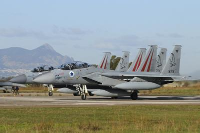 F-15D Baz from the Israeli Air Force at Decimomannu Air Base, Italy