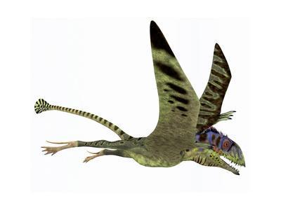 Peteinosaurus Pterosaur from the Triassic Period