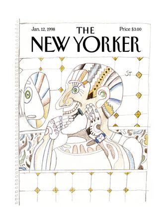 The New Yorker Cover - January 12, 1998