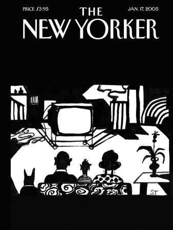 The New Yorker Cover - January 17, 2005