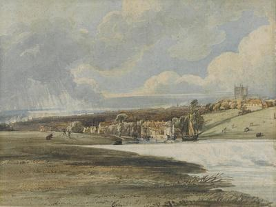 Exeter from Trew's Weir, C.1799