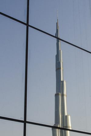 Burj Khalifa the Tallest Building in the World Downtown Dubai, Uae
